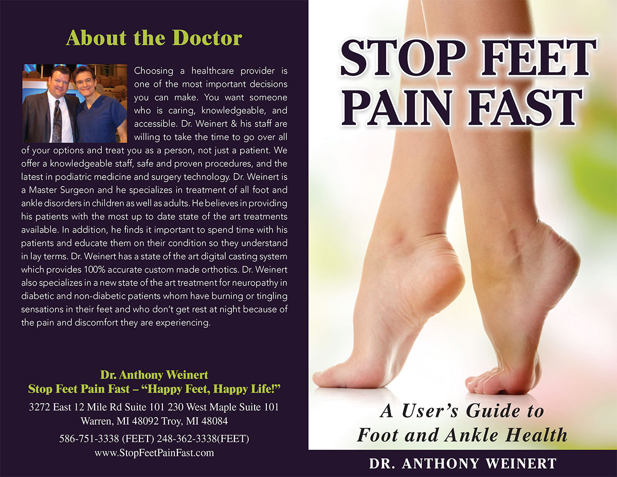 stop feet pain fast user guide book