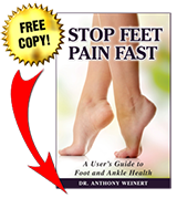 stop feet pain fast book