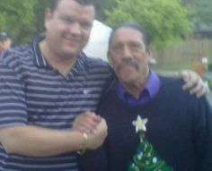 Dr. Weinert and Danny Trejo