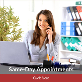 same day podiatry appointments