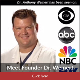 podiatrist anthony weinert on television